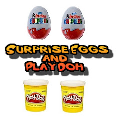 Surprise Eggs and Play Doh