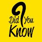 Did You Know ? on realtimesubscriber.com