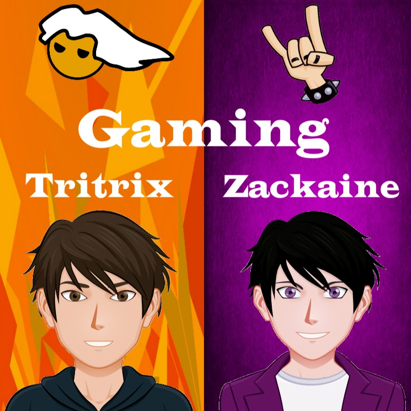 youtubeur Tritrix & Zackaine Gaming