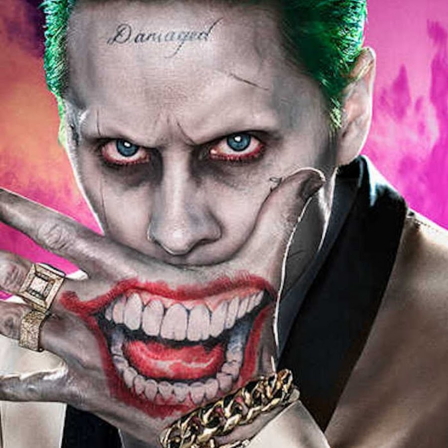 Joker Tattoo On Hand: Entertainment Funny Pranks