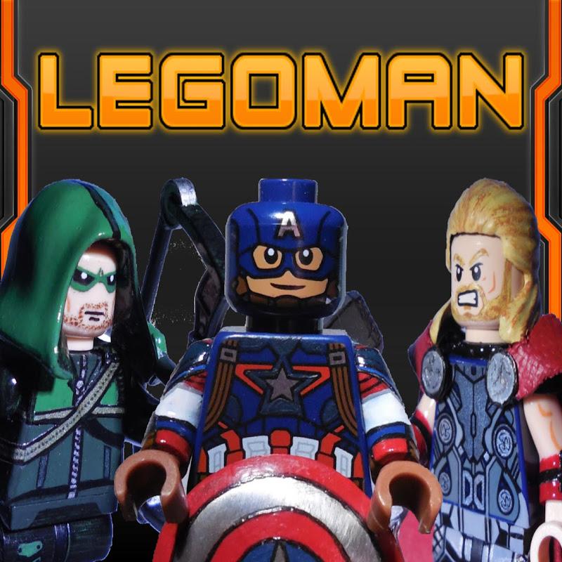 youtubeur Lego Man