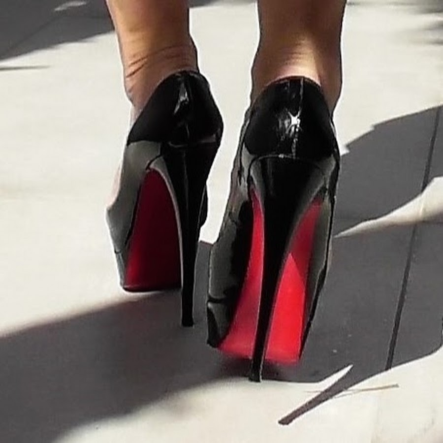 High or Sky - High Stiletto Heels in Nude Color - YouTube