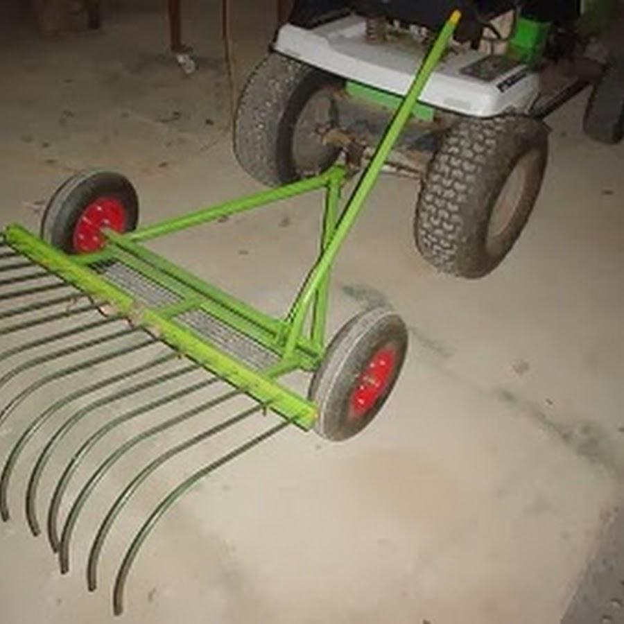 Stick Rake For Ride On Mower | Home design ideas