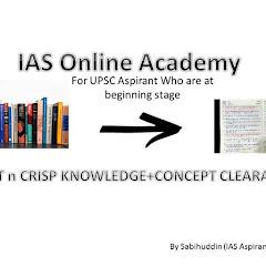 IAS Online Academy