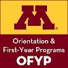 Orientation First Year Programs U of MN