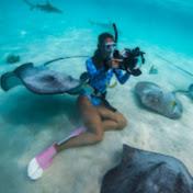 Alicia Underwater