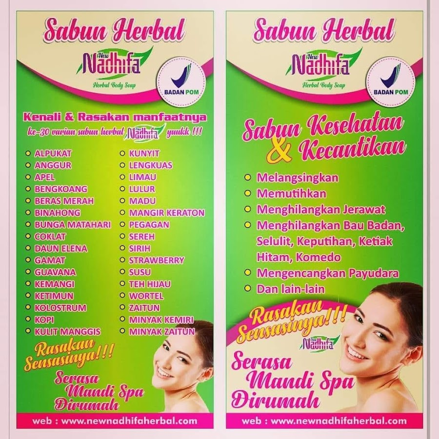 Sabun Herbal Nadhifa Youtube Skip Navigation