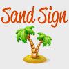 Sand Sign