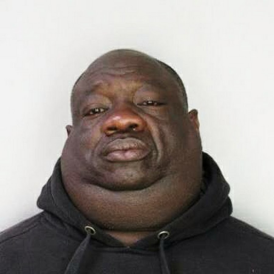 Fat black guy