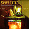 Stove Lite - World's First Lantern Powered by a Wood Burning Stove
