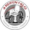 4 Reifen1Klo Camping mit Omnia-Backofen