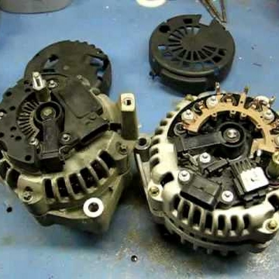 Ford Alternator Wiring Youtube Alternatorman