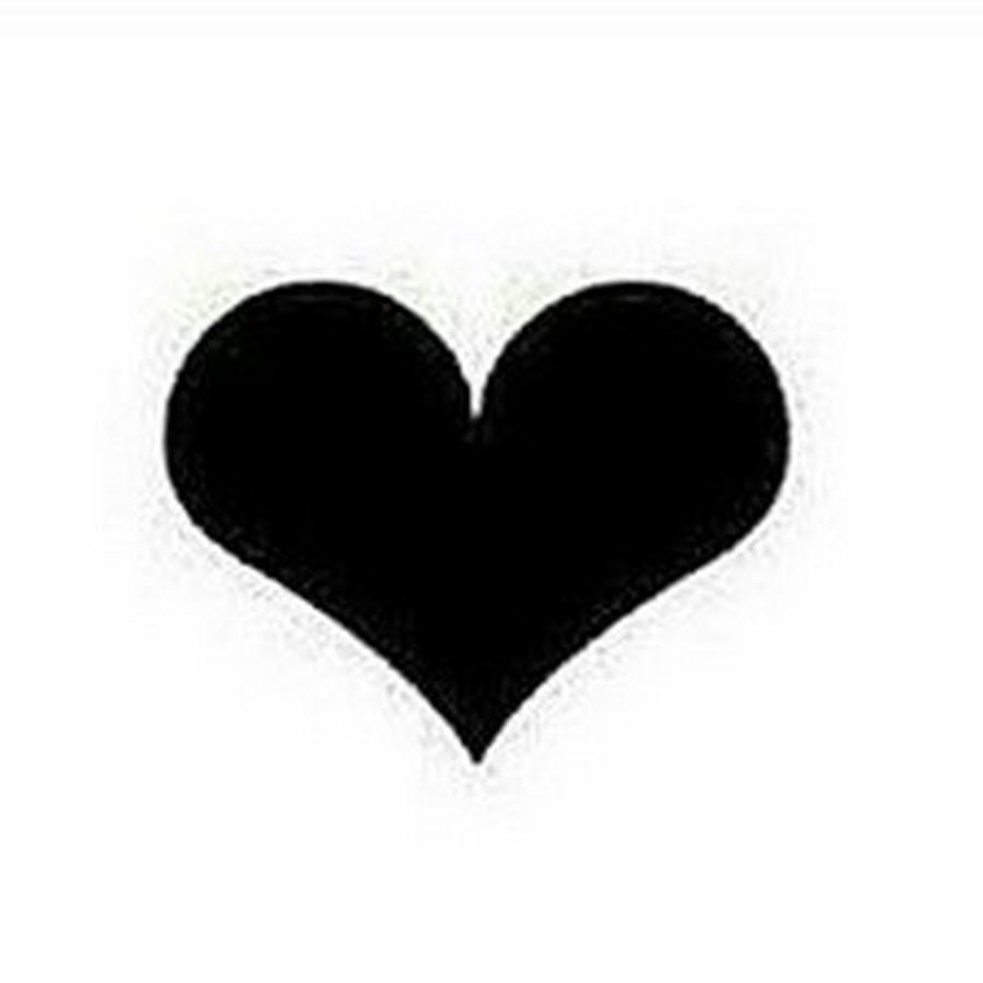 transparent black heart - 512×512