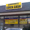 Community Quick Cash Advance and Personal Loans