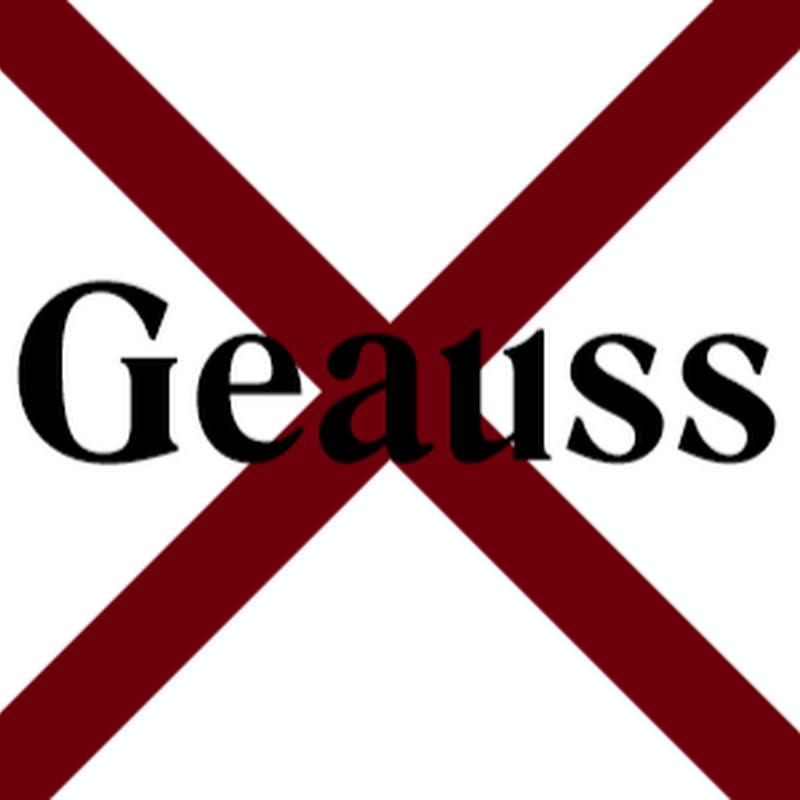 Geauss (Nieuw Kanaal, GeaussOnly)
