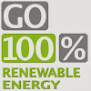 go 100 percent renewable energy