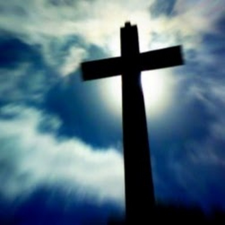 the wooden cross by the sky