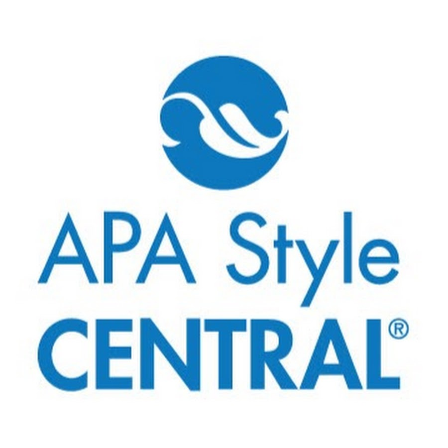 apa style central youtube