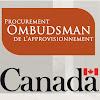 Office of the Procurement Ombudsman * Bureau de l'ombudsman de l'approvisionnement