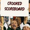 Crooked Scoreboard