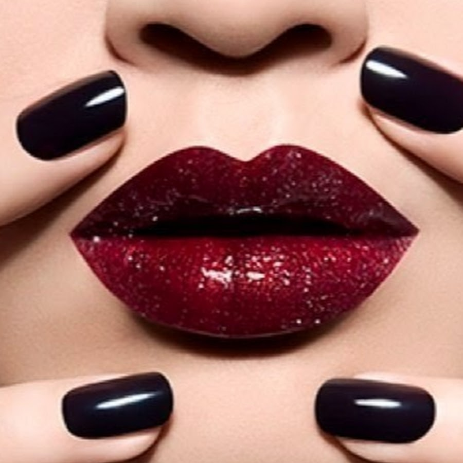 nails and lipstick tumblr - 560×700