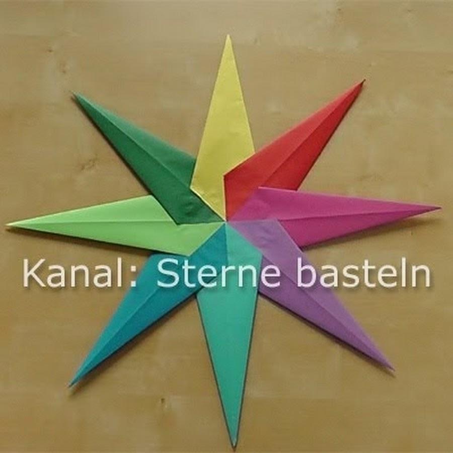 sterne basteln - youtube