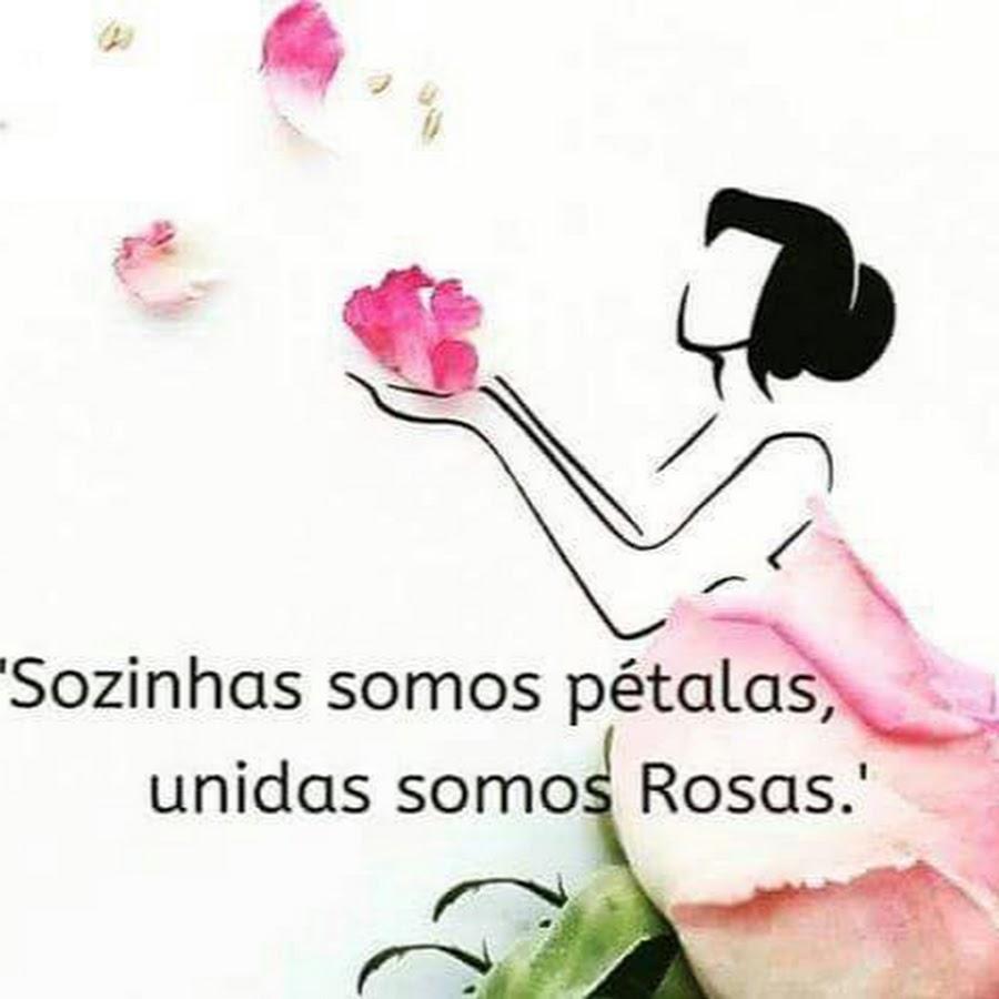 Resultado de imagem para sozinhas somos pétalas unidas somos rosas