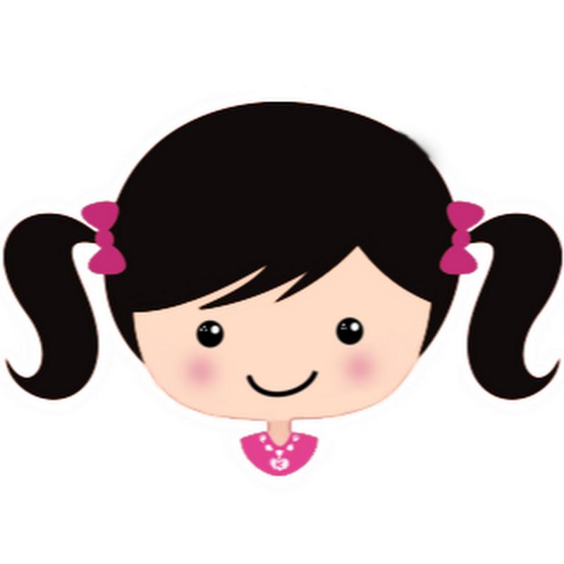 cartoon girl hair - 800×535