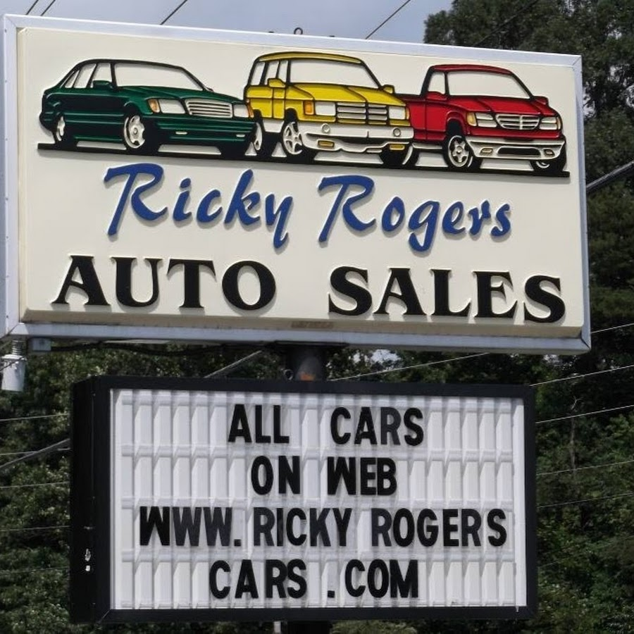 Ricky Rogers Auto Sales Youtube