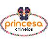 Chinelos personalizados para casamento - Princesa chinelos