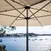 Finbrella; wind-stable umbrellas