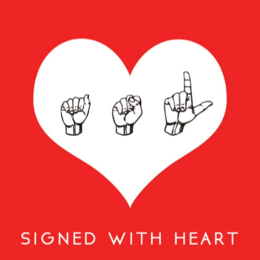 signed with heart youtube