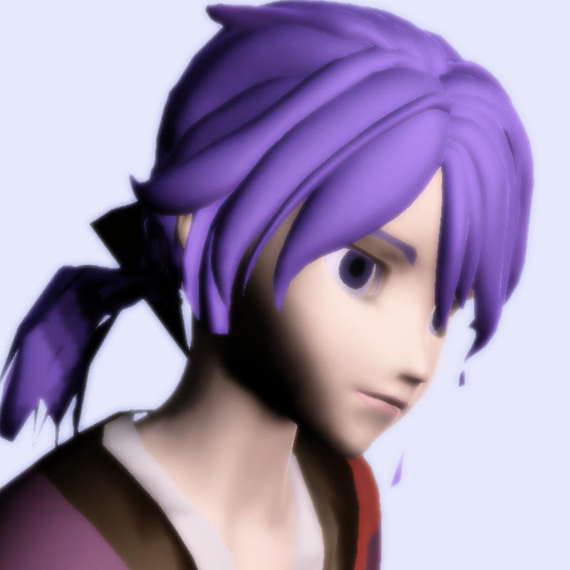 Vtuber紫羽根マガモ
