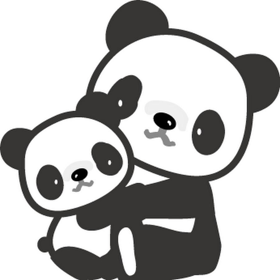 редко раскраска панда милая распечатать те, кто