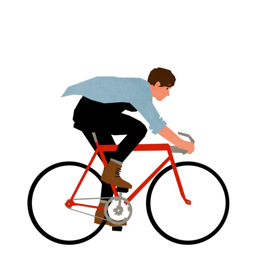 времена прошли, анимационные картинки велосипед пирожные, залитые желе