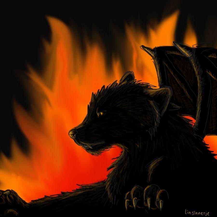 Картинки волка адского пламени