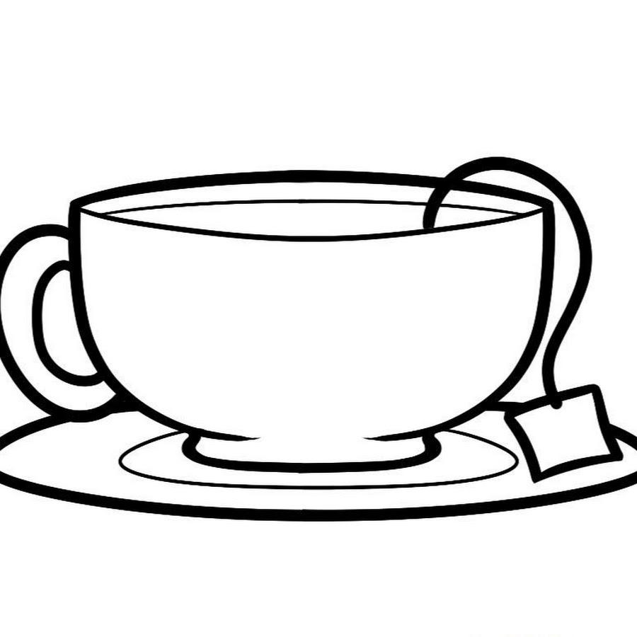 многие черно белый рисунок чай такого элемента может