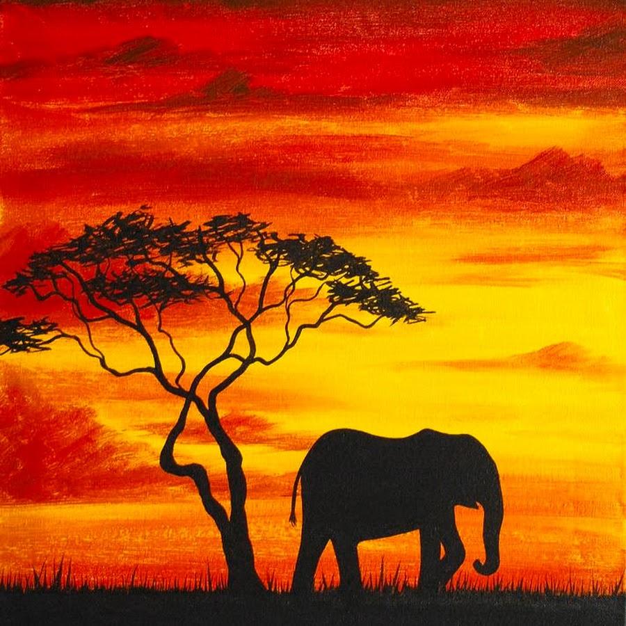 африканские пейзажи в картинках современного
