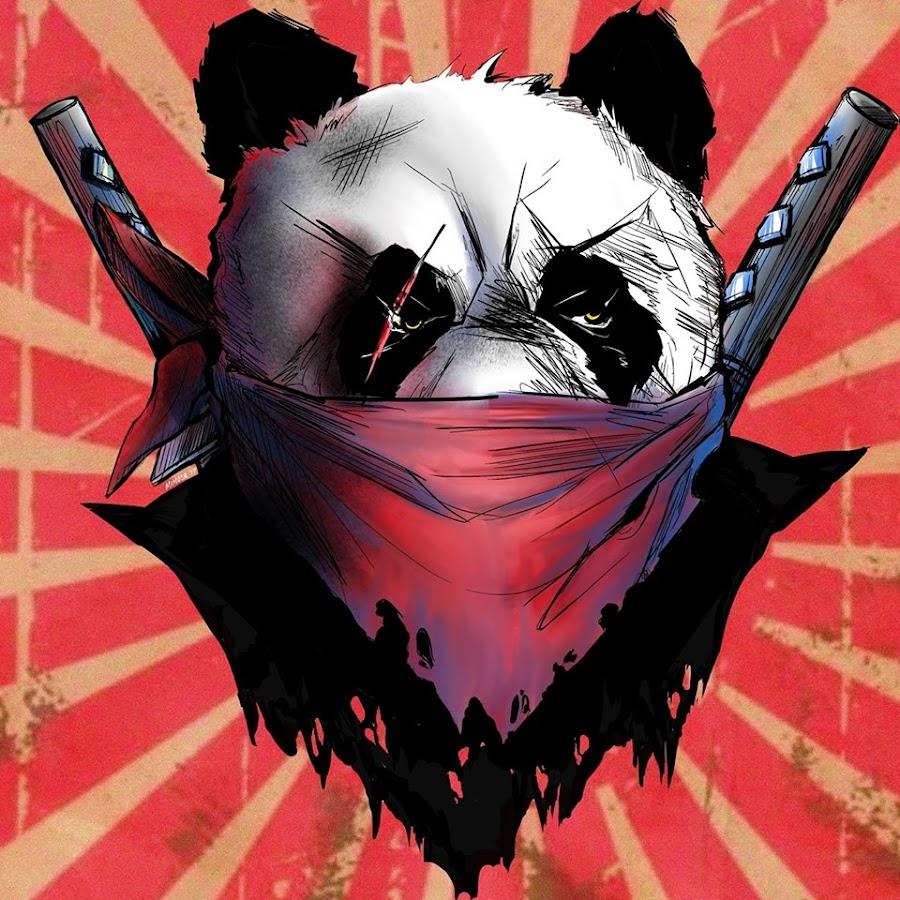 Злой панда картинки