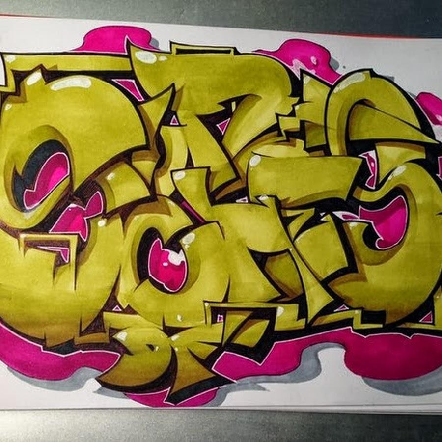 граффити на бумаге фото имена женские
