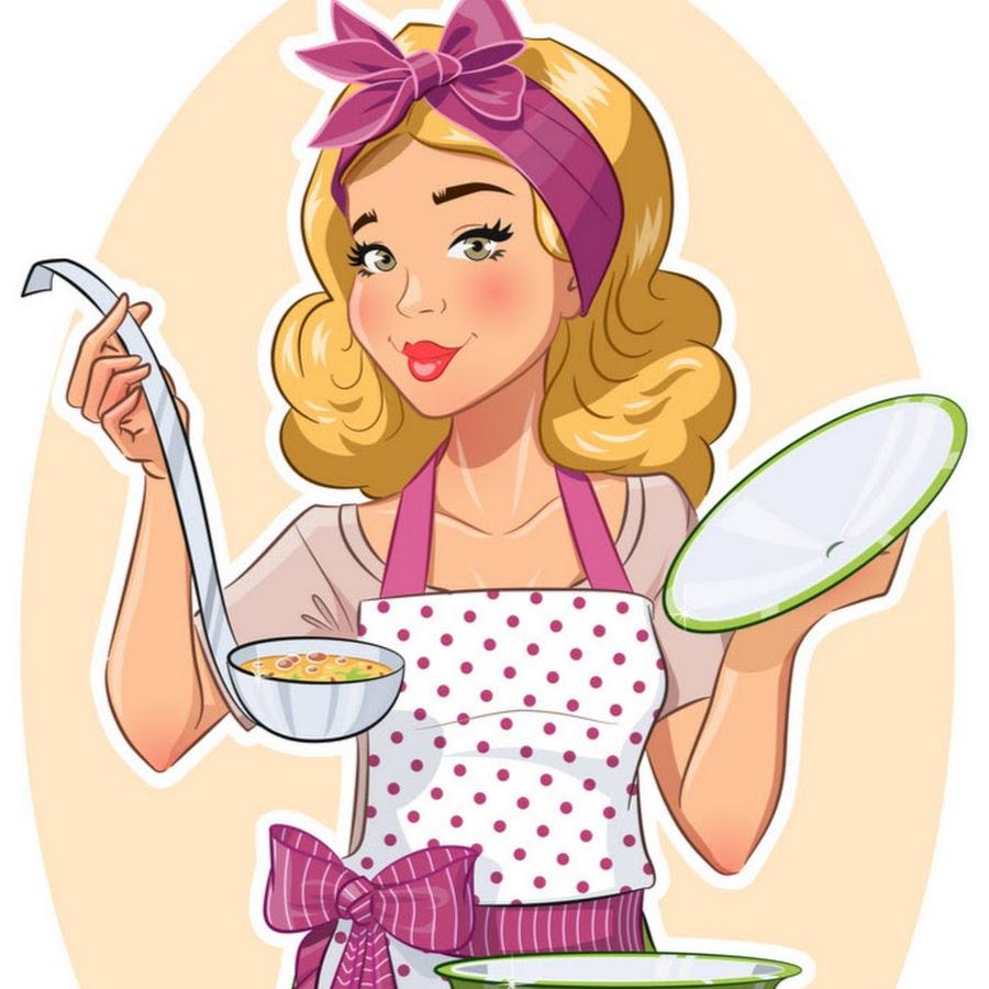 Нарисованные картинки с домохозяйками