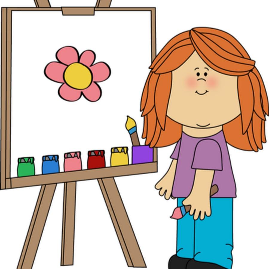 art class clip art - 900×900