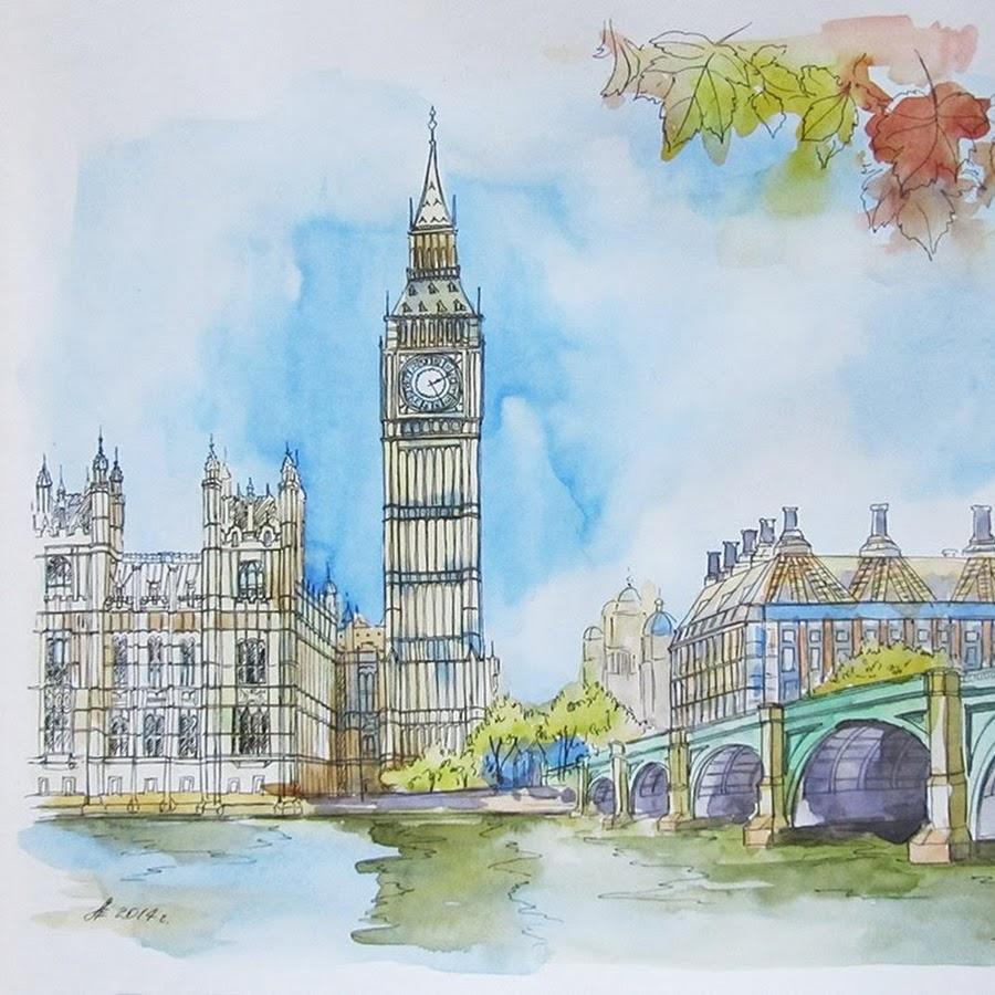 картинка на тему города лондон при