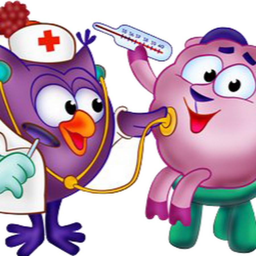 мультяшные картинки на тему здоровье что делать