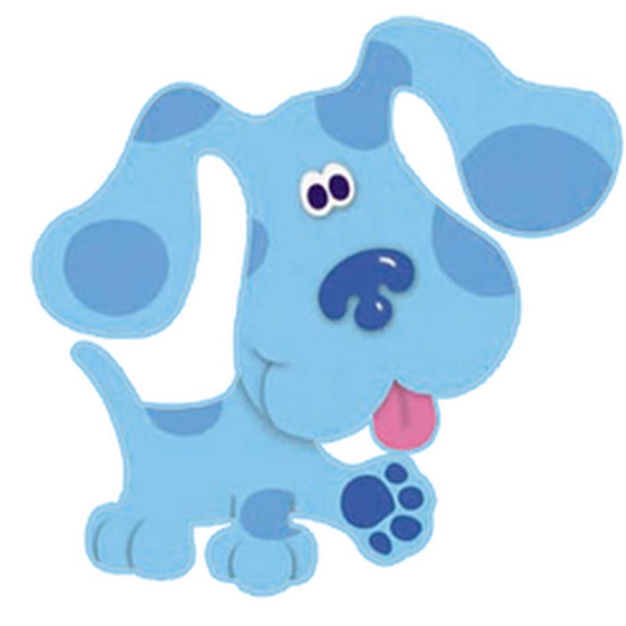 Голубой щенок картинки для детей