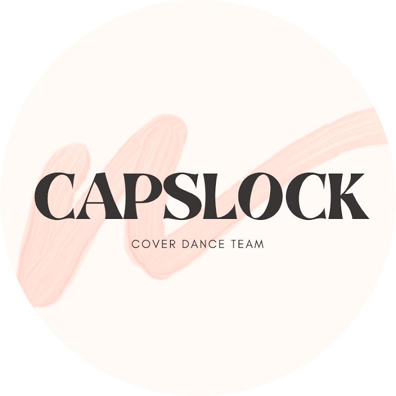 Logo for CAPSLOCK_coverdance