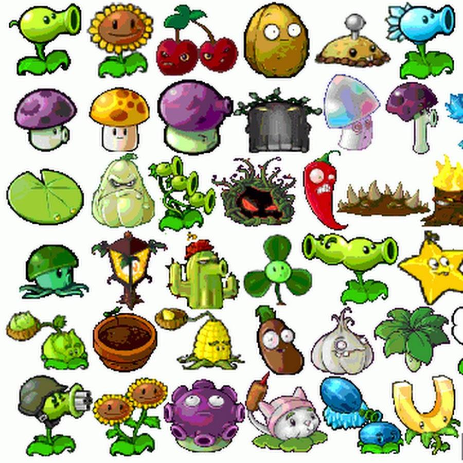 Картинки для срисовки растения против зомби