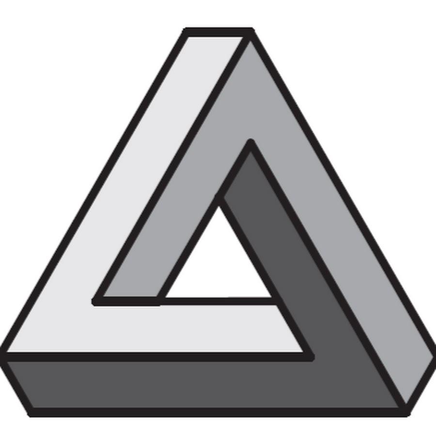 Картинка иллюзия треугольник пенроуза