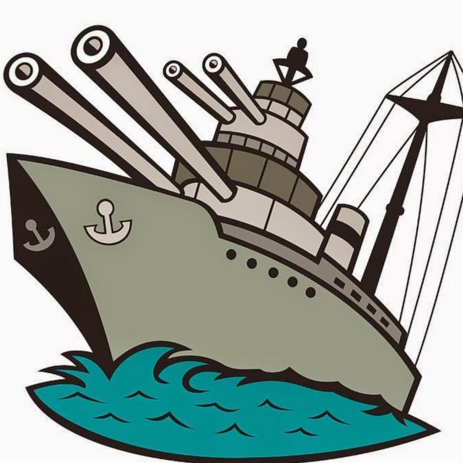 Картинка корабль военный мультяшный
