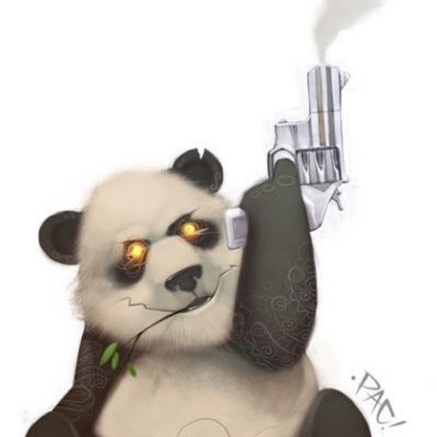 Trigger Happy Panda